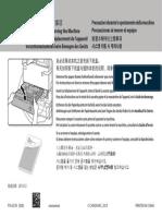 IRADV 500 Cassette Notice Multi R