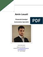 Amin-Louati CV & Portfolio-2018