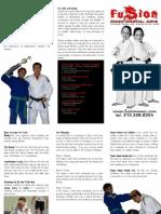 Fusion Mixed Martial Arts - After School Program Brochure