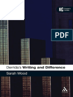 [Continuum Reader's Guides] Sarah Wood - Derrida's 'Writing and Difference'_ A Reader's Guide (2009, Continuum).pdf