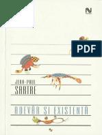 Jean-Paul Sartre - Adevar si existenta (2006, Nemira).pdf