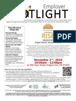 Employer Spotlights November 2018