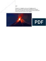 Qué Son Los Volcanes