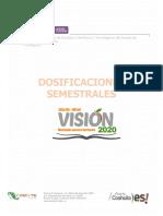 Dosificaciones Modulos de Produccion Cecyte