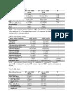 Tabel 1 JR Nananananannnanana