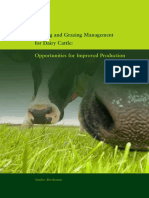 Feeding and Grazing Management for Dairy Cattle  Opportunities for
