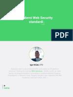 Web Security Standardi WordPress Bezbednost