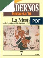 Cuadernos De Historia 16 007 La mesta 1985.pdf