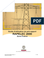 Guide Utilisateur du pré-rapport (Zone FRANCE)