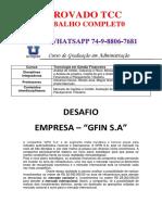 UNOPAR Tecnologia em Gestão Financeira 3 e 4 GFIN S.pdf
