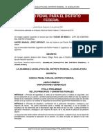Codigo Penal del Distrito Federal .pdf