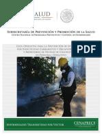 Guia Metodologica Para La Prevencion de Intoxicacion Por Insecticidas