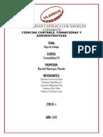 Contabilidad III - Trabajo IV unidad