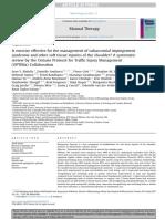 ¿El Ejercicio Es Efectivo Para El Manejo Del Síndrome de Pinzamiento Subacromial y Otras Lesiones