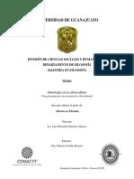 Ontología en la cibercultura (Una pregunta por la encarnación cibercultural).pdf