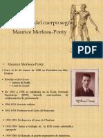 El problema del cuerpo según Maurice Merleau-Ponty