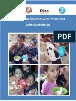 Completion Report Bear Hugs for Venezuela Pilot Project_Oct 2018