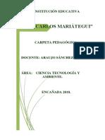 Capeta Pedagogica 2018 Atual