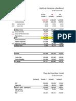 FLUJO CAJA LIBRE - Envolturas SAC - Valoración Empresas