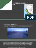 Franja Sedimentaria Mesozoica de La Cordillera Ocidental