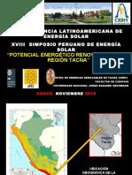 recursos renovables tacna