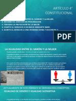 ARTÍCULO 4° CONSTITUCIONAL