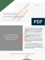 The Good Censor - GOOGLE LEAK