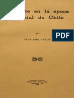 El Arte en La Época Colonial de Chile