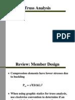 MIT Design Truss Analysis
