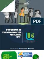 PTP - Logros Regionales Sector Agroindustria