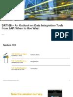 Data Integration tools