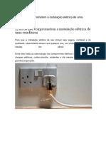 Erros Que Comprometem a Instalação Elétrica de Uma Residência