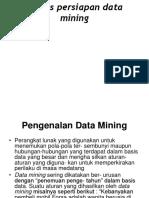 Ppt Pemerosesan Data Mining