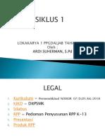 PRESENTASI SIKLUS 1