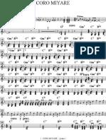 Coro Miyare ( Piano )