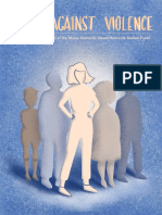 12th biennial Voices Against Violence report from the Maine Domestic Abuse Homicide Review Panel