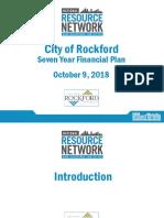 Rockford Executive Summary Presentation 10.8.18