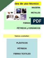 plásticos