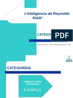 Escalas de Inteligencia CATEGORIAS
