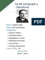 Jorge Icaza - Biografia