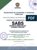 DBC Batería de Baños U.E. Cambao