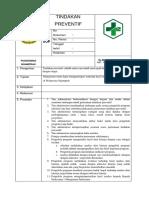 sop TINDAKAN PREVENTIF bab 3.docx