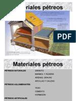 materiales pétreos y textiles