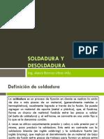 Soldadura y Desoldadura