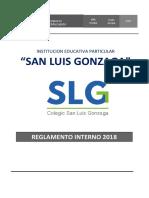 2018 Reglamento Interno