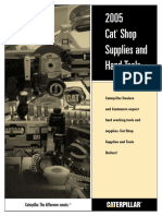 2005 CAT SHOP SUPPLY