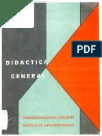 Didáctica General. Villarroel