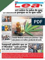 Periódico Lea Miércoles 10 de Octubre Del 2018