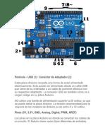 Partes de Arduino 1