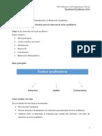 T2 Clase 1 La estructura del texto académico